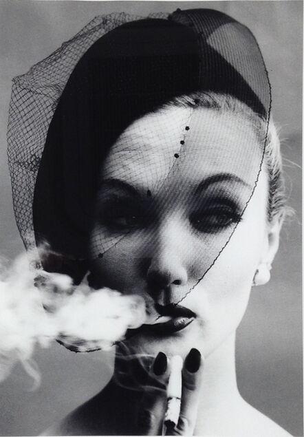 William Klein, 'Smoke & Veil, Paris (Vogue)', 1958