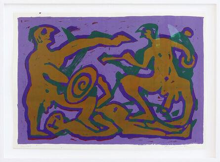 A.R. Penck, 'Trojanischer Krieg', 1994