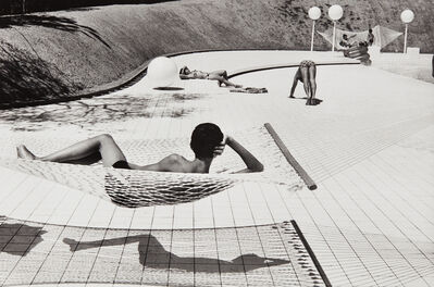 Martine Franck, 'Swimming Pool Designed by Alain Capeilleres, La Brusc, South of France', 1976-printed later