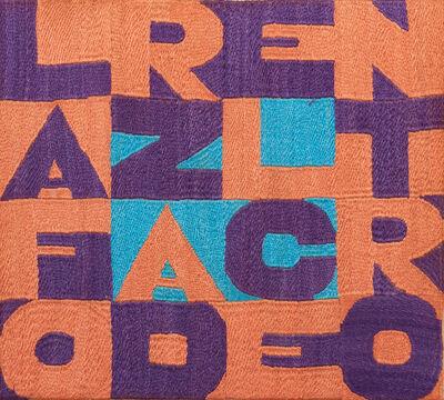 Alighiero Boetti, 'La Forza del Centro', 1990