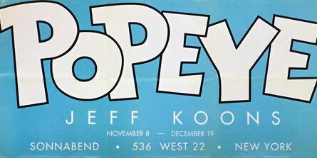 Jeff Koons, 'Jeff Koons 'Popeye' exhibit poster ', 2003