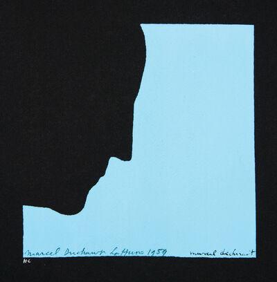 Marcel Duchamp, 'Self Portrait in Profile', 1959