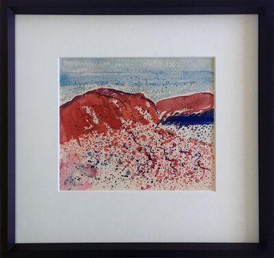 Adeine de la Noe, 'Untitled Red Hills, Abiqui', ca. 1960s