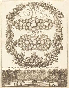 François Le Febvre, 'Le dragon qui se void dans le jardin de Ruel', probably 1665