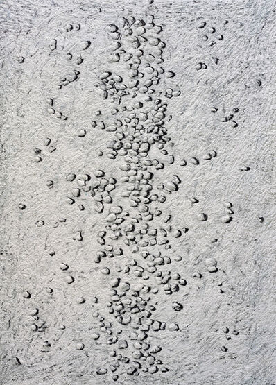 Vik Muniz, 'Achrome (Pebbles, Kaolin on Canvas), after Piero Manzoni', 2008