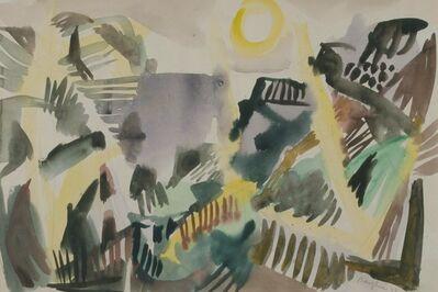Eduard Bargheer, 'Schlucht (Canyon)', 1948