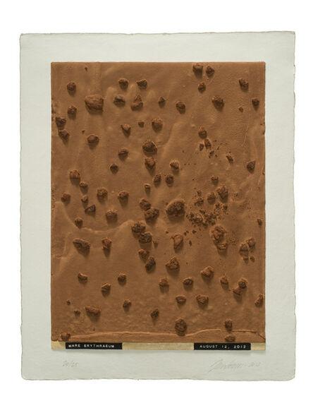Julião Sarmento, 'Curiosity's Eye (mare erythraeum)', 2013