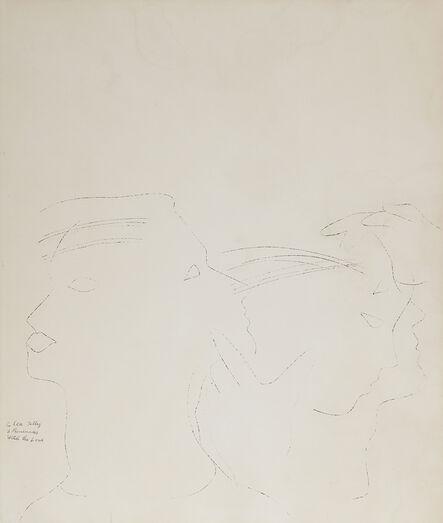 Andy Warhol, 'Dancers', ca. 1954