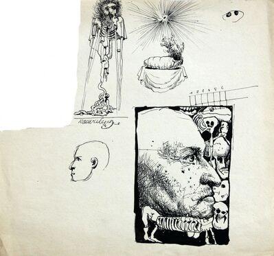 Franciszek Starowieyski, 'Self-Portrait', ca. 1980