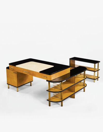Kem Weber, 'Modular Desk for the Master's Sitting Room of the W.E. Bixby, Sr., Residence, Kansas City, Missouri', circa 1936-1937