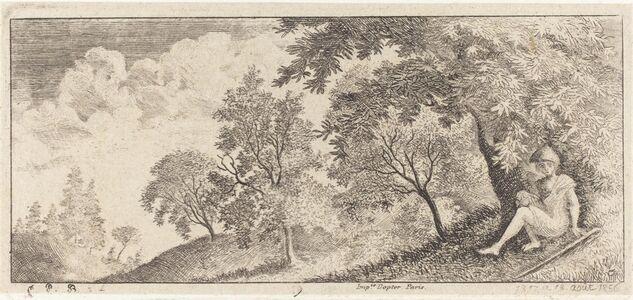 Emmanuel Phélippes-Beaulieu, 'The Small Shepherd Seated', 1856
