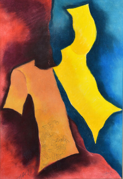Arpana Caur, 'Body is just a garment', 1991