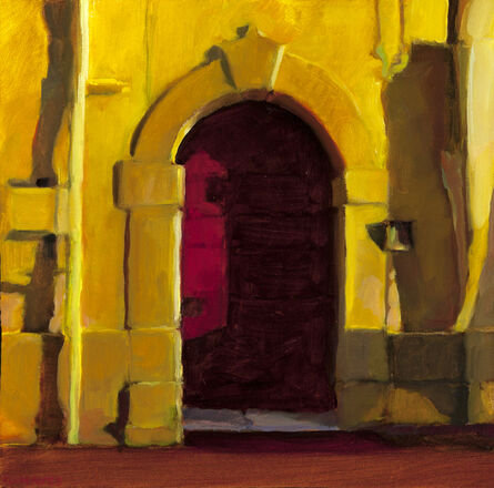 Connie Hayes, 'Red Door, Civita'