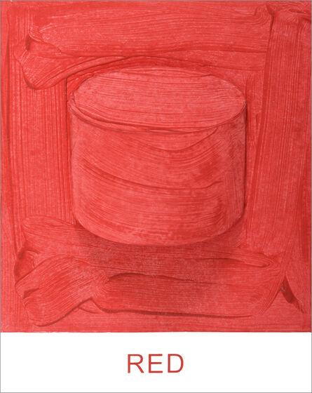 John Baldessari, 'Eight Colorful Inside Jobs: Red', 2017