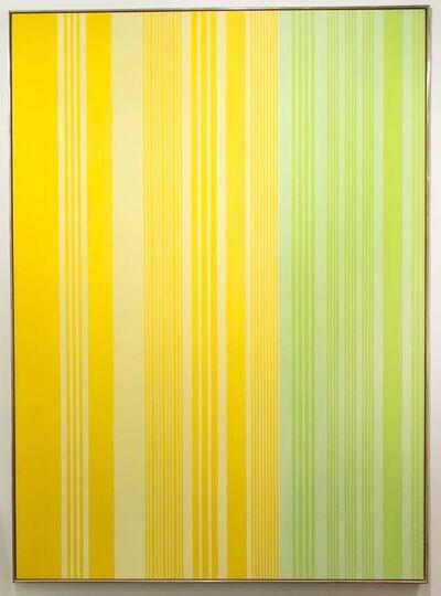 Gene Davis, 'Lime-Lemon', 1970