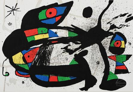 Joan Miró, 'Femme Oiseau from Derrière Le Miroir', 1970