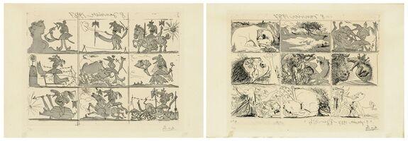 Pablo Picasso, 'Sueño y Mentira de Franco I & II', 1937