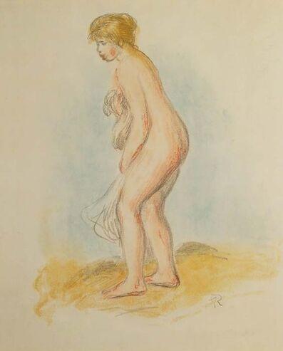 Pierre-Auguste Renoir, 'Baigneuse, Debout, En Pied', ca. 1896