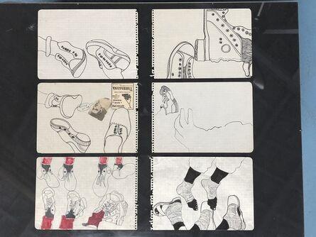 Antoni Miralda, 'Cuaderno Castillejos #8', 1965