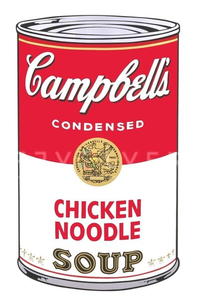 Andy Warhol, 'Chicken Noodle (FS II.45)', 1986