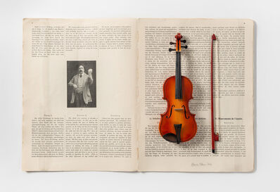 Carmen Calvo, 'Goby Eberhardt - Gymnastik des Violinspiels', 2016