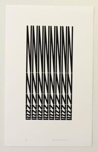Vera Molnar, 'Strucuture à partir de la lettre N ', 2011