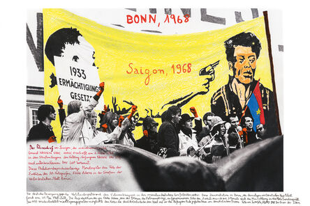 Marcelo Brodsky, 'From the series 1968: The fire of Ideas, Bonn, 1968', 2014-2019