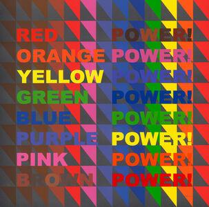 Jeffrey Gibson, 'POWER! POWER! POWER!', 2020