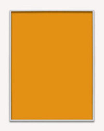 Phil Chang, 'Untitled (Orange Monochrome 04)', 2014