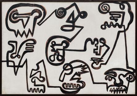 Niobe Xandó, 'Máscaras XIII', déc. 1980