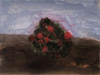Kathryn Lynch, 'Red Flowers on Bush', 2019
