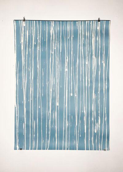 Missy Engelhardt, 'Blue with Bleach Drips', 2020