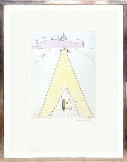 Salvador Dalí, 'Dieu, le temps, l'espace et le pape. (God, Time, Space and the Pope.)', 1974