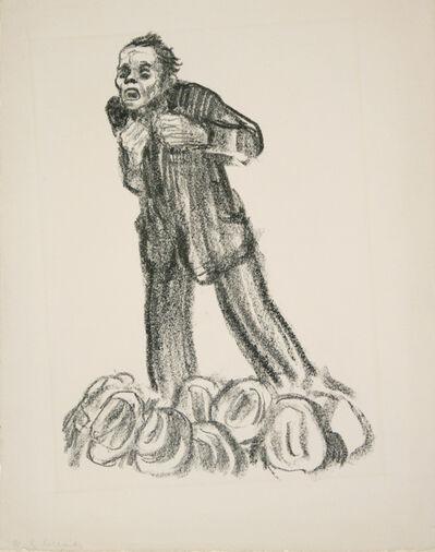 Käthe Kollwitz, 'The Agitator', 1926