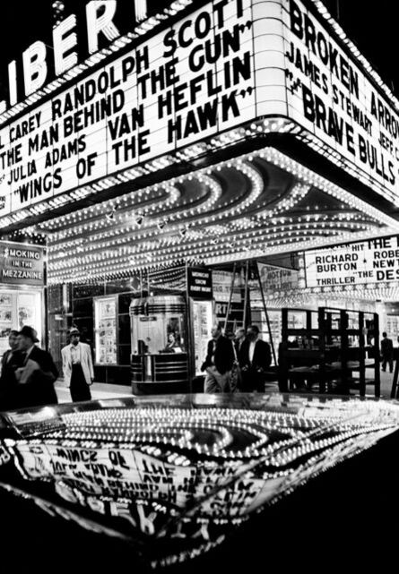 William Klein, 'Wings of the Hawk, 42nd Street, New York', 1955