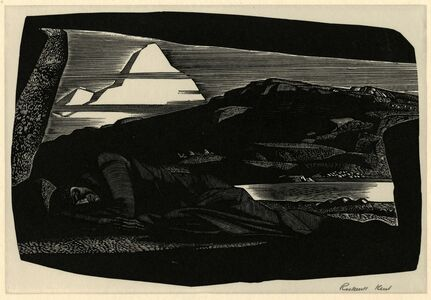 Rockwell Kent, 'Northern Night (N by E)', 1930