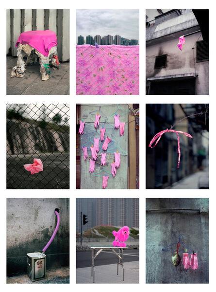 Michael Wolf (1954-2019), '#20, Hong Kong pink, MFT group', 2014