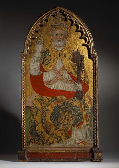 Francesco de' Franceschi, 'Saint Peter Enthroned ', Mid 15th century