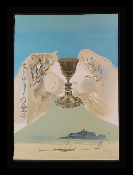 Salvador Dalí, 'The Chalice of Love', 1976