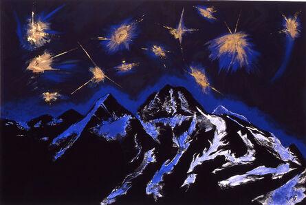 Silvio Merlino, 'MONTAGNE DI CAREZZE', 1990