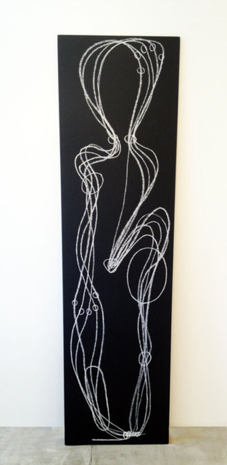 Tatiana Grinberg, 'sobre a distância entre as mãos e os olhos_vertical_corte_01', 2014