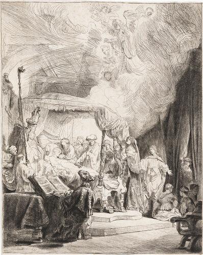Rembrandt van Rijn, 'The Death of the Virgin', 1639