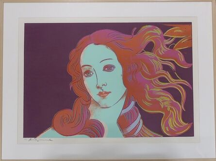 Andy Warhol, 'Details of Renaissance Paintings (Sandro Botticelli, Birth of Venus 1482) F&S II.317', 1984