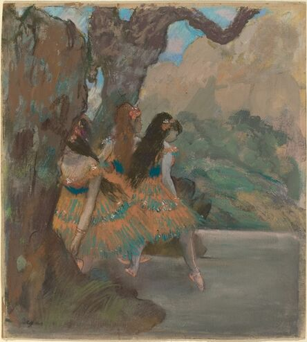 Edgar Degas, 'Ballet Dancers', ca. 1877
