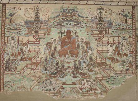 'Sukhavati (Amitabha's Pure Land), painting on the north wall of Mogao Cave 45', 705–781