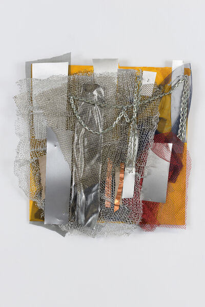 Renée Lerner, 'Silver on Yellow', 2012