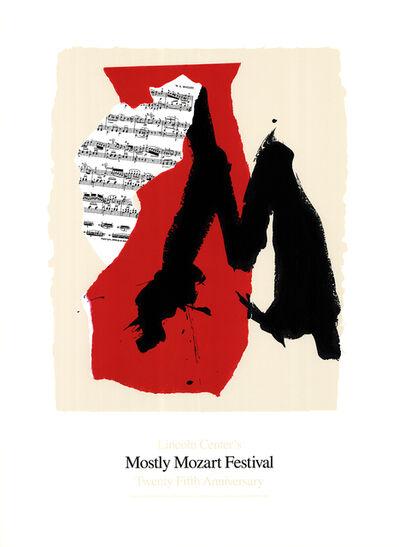 Robert Motherwell, 'Mostly Mozart Festival', 1991
