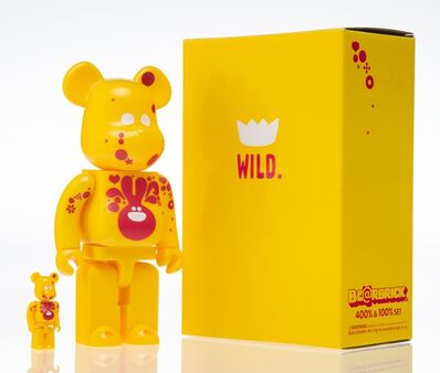 BE@RBRICK X Genevieve Gauckler, 'Wild 400% and 100% (two works)', 2007