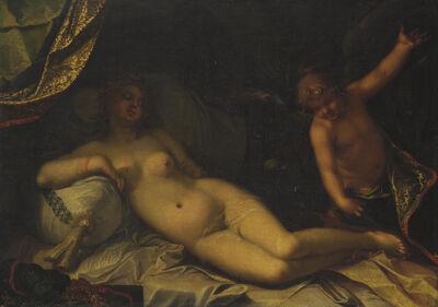 Abraham Bloemaert, 'A mythological scene, perhaps Venus and Cupid'