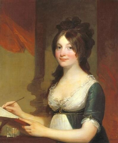 Gilbert Stuart, 'Portrait of A Young Woman', about 1802-1804